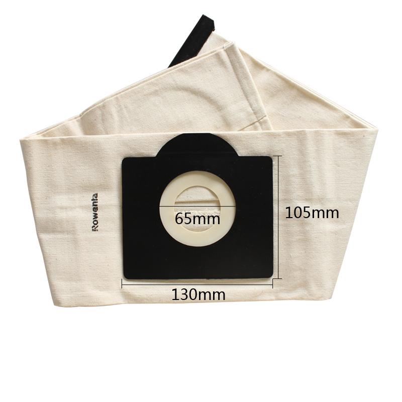 Vacuum Cleaner Bag,Washable Dust Bag for Vacuum Cleaner Rowenta,Karcher,HR6675,alaska,fakir,fif,wirbel,soteco,foma etc.(China (Mainland))