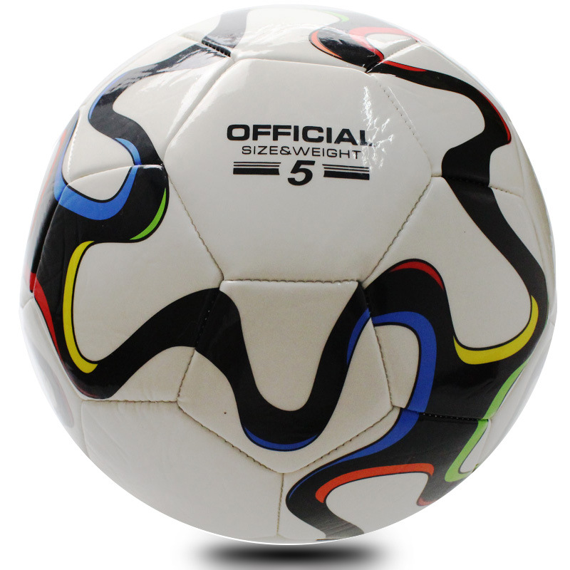 Survetement Football 2016 High Quality Standard Soccer Ball Training Balls Football Official Size 5 High Quality PVC Soccer Bal(China (Mainland))
