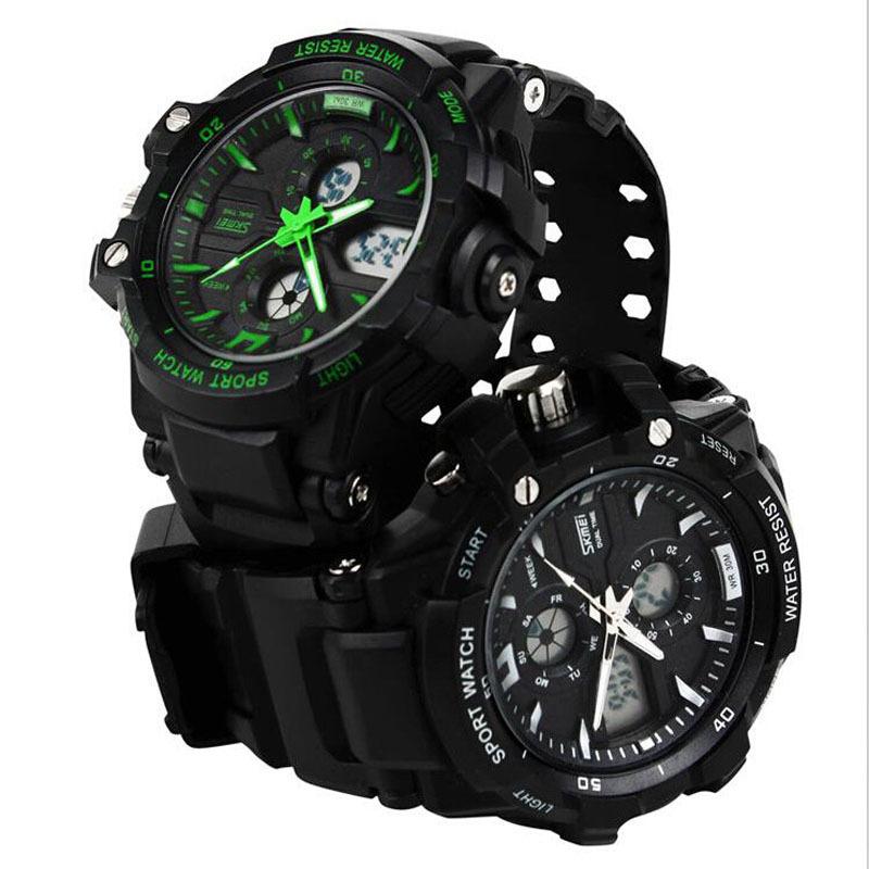 Fashion Digital watch Skmei 0990 military sport watches men luxury brand LED watch men quartz waterproof