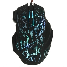 2015 New Arrival 5500 DPI 7 Button LED Optical USB Wired Mouse Gamer Mice computer mouse Gaming Mouse For Pro Gamer(China (Mainland))