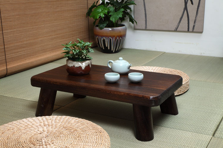 korean traditional dark wood furniture for sale