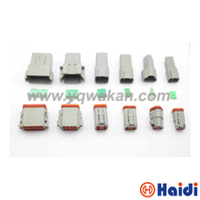 Buy Free 1set 2/3/4/6/8/12pin Deutsch male&female connector DT04-2P DT04-3P DT04-4P/6/8/DT04-12P&DT06-2S/3/4/6/8/DT06-12S for $15.00 in AliExpress store