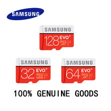 SAMSUNG EVO+ Memory Card 16GB/32GB/SDHC 64GB/128GB/SDXC 80MB/S  Micro SD TF Class10 Class10 Flash Memory Cards Free Shipping(China (Mainland))