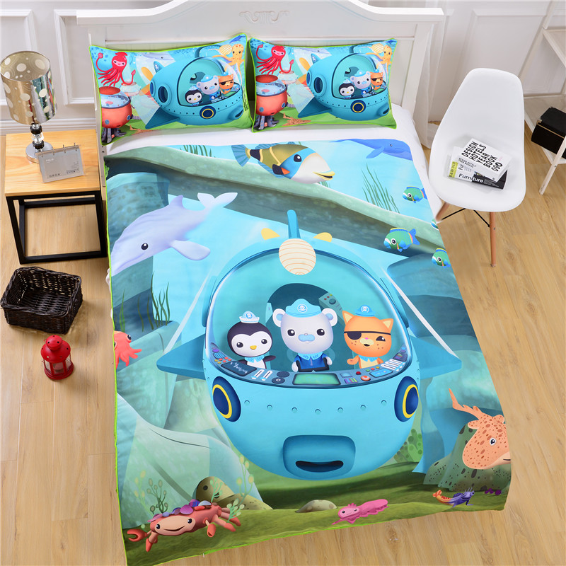 Octonauts Toddler Bed Set
