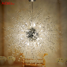 Modern creative personality living room chandelier bedroom restaurant LED Star clothing store dandelion fireworks lighting ball(China (Mainland))