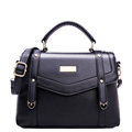Solid Color Simple Messenger Bag Fashion All match Ladies Retro Shoulder Bag Occident Style Women Vintage