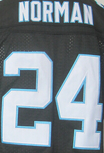 1 Cam Newton 13 Kelvin Benjamin 24 Josh Norman 59 Luke Kuechly 88 Greg Olsen Color:Green Black White Size:M~XXXL(China (Mainland))
