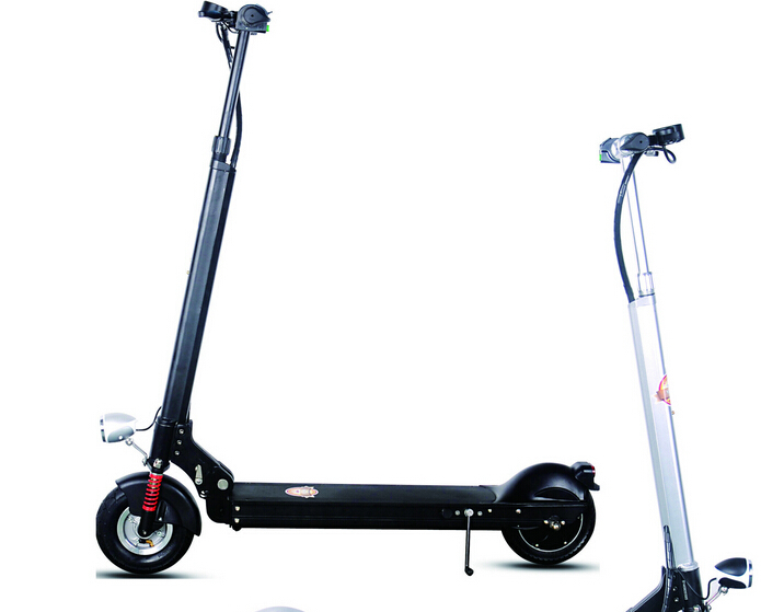 2015 lightest two wheels foldable electric scooter whole aluminum frame(China (Mainland))