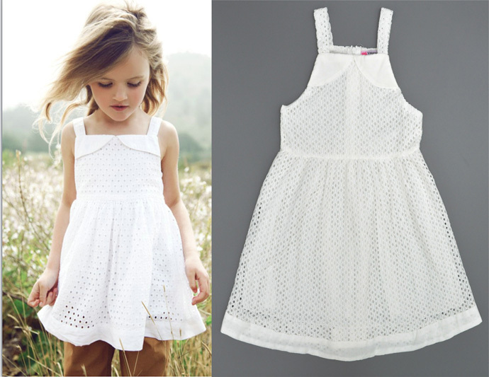 Toddler Girls Designer Clothes girl dress summer style