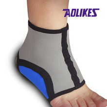 2 pcs /lot Stretch Sports Ankle Brace Protector for Fitness Running Sports Safety Ankle Support(China (Mainland))