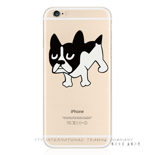 """6+/6S+ 5.5"""" Newest Arrival Pattern Dogs Silicon Phone Cover Case For Apple iPhone 6Plus/6S Plus Cases Shell 2016 Top Fashion"""