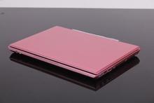 Laptop Computer Pink 13 3 Inch HD 1366x768 LED Screen Dual Core Notebook Intel Celeron 1037U