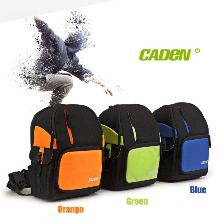 1PC CADEN D5 Travel Shoulder Messenger Bag Camera Carry Case for Canon DSLR SLR fe15