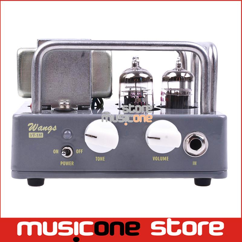 Electric All Tube Guitar Amplifier Head Biyang Wangs VT-1H AMP Head Adjust Volume And Tone Free shipping(China (Mainland))