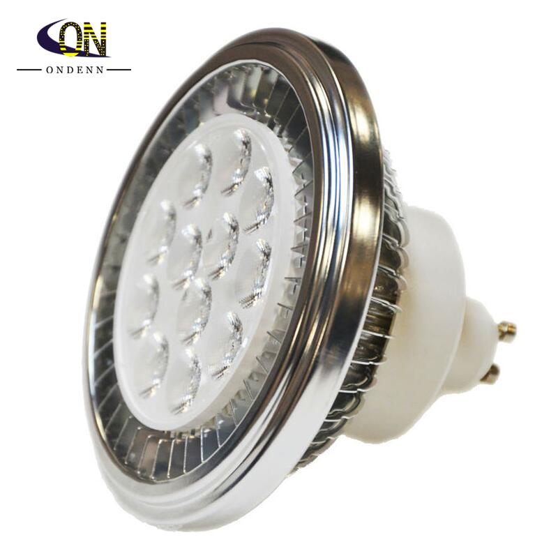 LED AR111 Spotlight QR111 Spot Light GU10 12W LED 90-240V DC12V 3000/4000/6000K Equivalent to 100W Halogen Lamp Bulb for Indoor(China (Mainland))