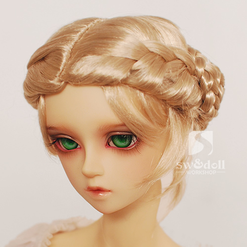 1/3 1/4 1/6 1/8 BJD wigs princess braid jerryberry multicolor faux mohair<br><br>Aliexpress