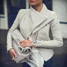 Basic Jackets 2016 Fashion Long Sleeve Leather Jacket Turn-Down Collor Leather Jackets Women Slim Coats Feminino chaquetas mujer(China (Mainland))