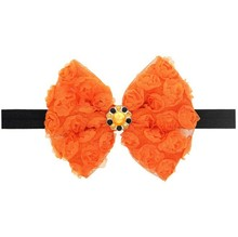 Halloween Style Baby Bow Knot Hair Band Ribbon