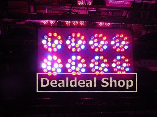 DHL 270W HOT SALE Apollo_8_LED_Grow_Light  3W x 120pcs Leds Red Blue 8:1 or 7:2 or Red Blue Orange 7:1:1 or 6:2:1,Freeshipping