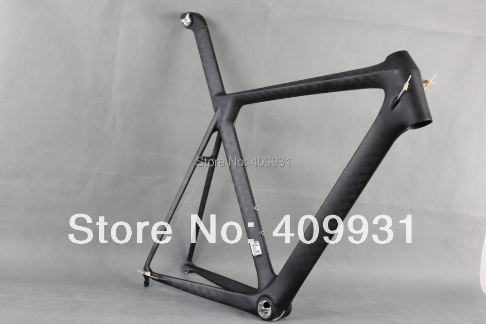 ICAN BIKES 2014 Newest carbon frame design aero design carbon road bike frame AC053,paint with black and red(China (Mainland))