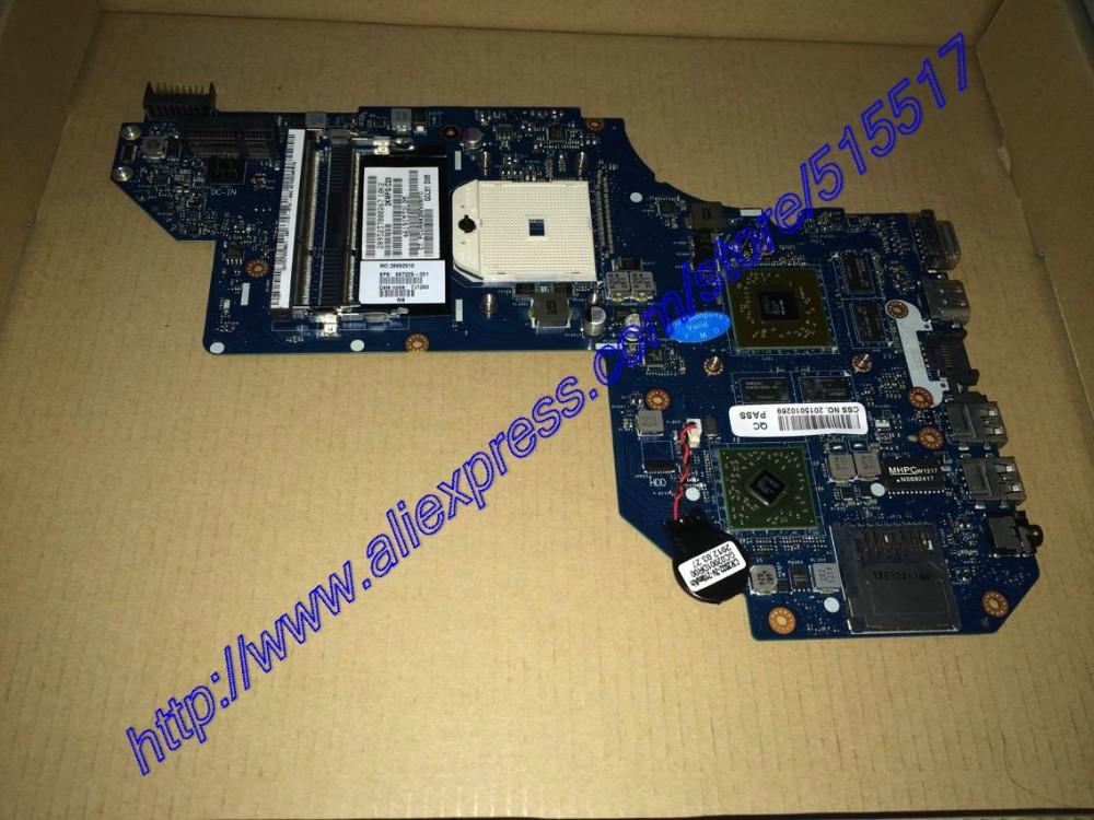 Warranty 90 Days For HP Pavilion M6 M6-1001AX M6-1076LA serise Mother board 687229-001  LA-8712P REV:1.0 , DHL EMS Drop