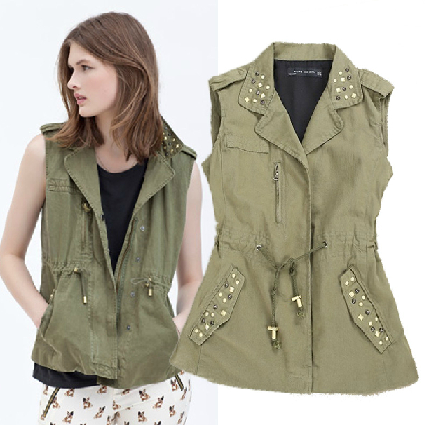 Find it at Old Navy for $ (in Khaki and Army Green!) grounwhijwgg.cf Factory Vest 13 of 14 This vest is a similar length to mine, a perfect color (in mine opinion), and still a good price.