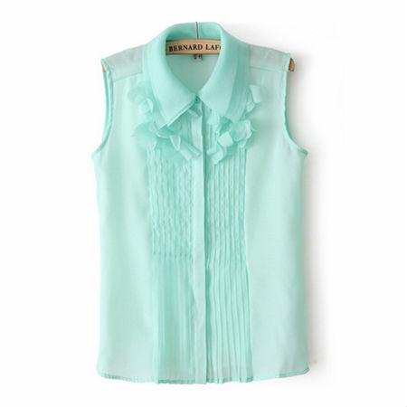Brilliant Green Blouse Green Shirt Green Tunic Green Clothing Work Blouse Stitch