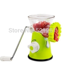 Manual Meat Grinder Mincer Machine Sausage Table Crank Tool Cutter Slicer Beef Multifunctional Meat Slicer kitchen Tools(China (Mainland))