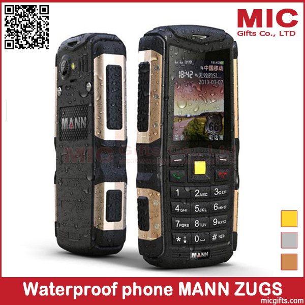 Hungarian Swedish Danish Waterproof Mobile Phone Dustproof Shockproof Rugged Cell Phones 2.0MP MANN ZUG S IP67 P375(China (Mainland))