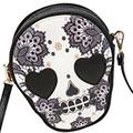 AUAU New Bags Women Skull Head Shoulder Crossbody Small Personalized Messenger Bag Handbag Hight Quality Vintage