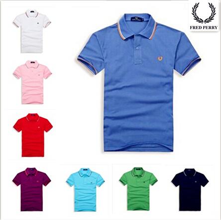 2015 homens quentes de vendas t-shirt marca camisas polo frEdly peRriely homens manga curta camisetas casual camisa frEdly peRriely(China (Mainland))