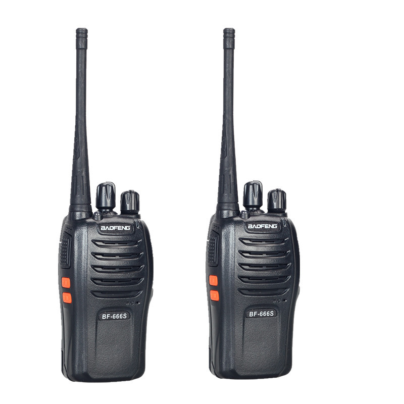 Walkie Talkie Baofeng bf/666s 2 CB uhf400.00 /470.00 Baofeng bf-666s walkie talkie pofung baofeng tf 319 8w uhf 400 480 128 fm vox pofung tf 319