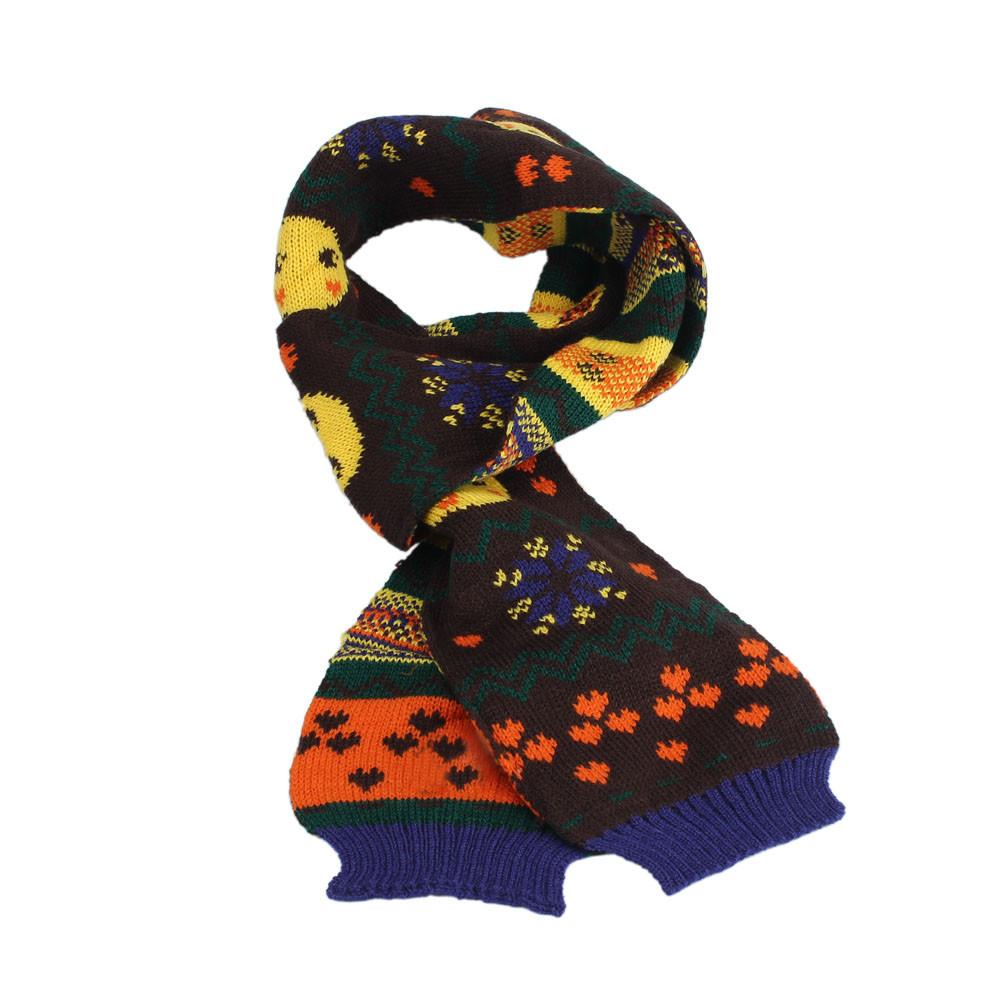 New Fashion Christmas Decoration Gift Kids Baby Winter Scarf Neck Warmer Knitting Wool Scarf Foulards&Bufandas For Children