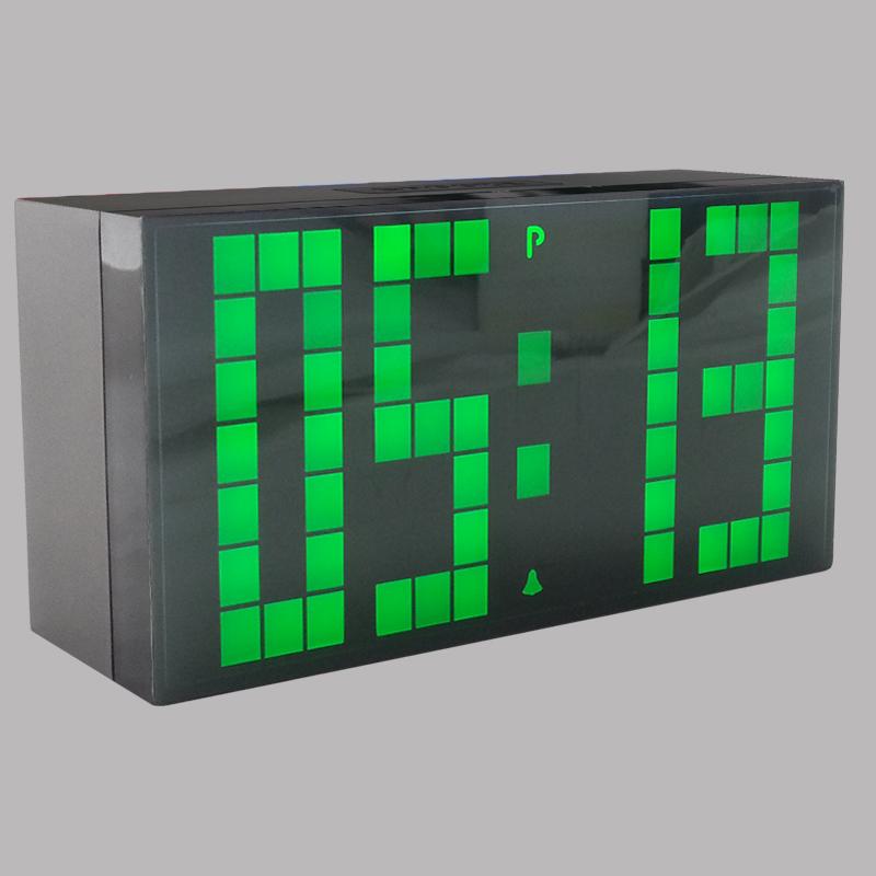 CH KOSDA 2016 Hot! Big LED Digital Clock Countdown Timer Alarm Clock on Desktop Table Desk LivingRoom Clocks Electronic Clocks(China (Mainland))