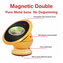 Magnetic Mobile Phone Holder Car Phone Holder Stand for iPhone And Samsun All the Smartphone(China (Mainland))