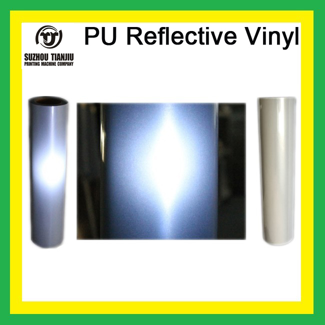 TJ PU heat transfer vinyl Reflective vinyl one color 0.5meter*25meter/Roll(China (Mainland))