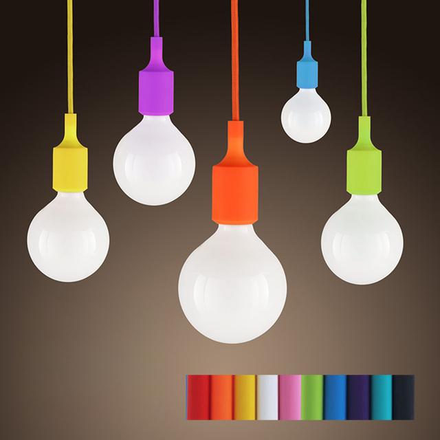 Acheter moderne et color lampes suspendues de silicone pour - Lampe pour cuisine moderne ...