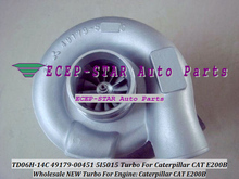 TD06H-14C 49179-00451 49179 00451 5I5015 Turbo Turbine Turbocharger For Caterpillar Excavator CAT E200B Earth Moving S6KT gasket