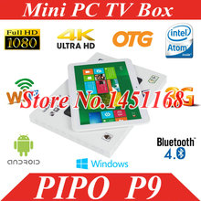 MINI PC PiPo P9 3G WiFi tablet pc RK3288 Quad Core Mali T764 10.1inch IPS 1920x1200 2GB+32GB Android 4.4 HDMI OTG BT GPS(China (Mainland))