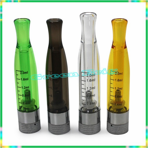 10pcs GS H2 Atomizer colorful GS H2 Clearomizer no wick replace hot ce4 atomizer Compatible ft