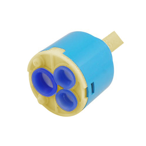 NEW FREE SHIPPING Home Blue Plastic Ceramic Water Tap Faucet Cartridge Valve(China (Mainland))