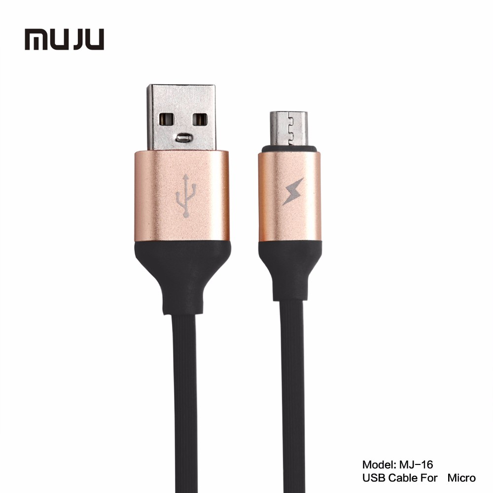 500pcs/lot 1M/3FT New Aluminum alloy USB thread fashion Cable Data Sync Charger for sumsung huawei HTC LG all smartphone