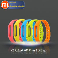 Buy Original Genuine Colorful Silicone Xiaomi Miband Wrist Band Bracelet Wrist Strap Xiaomi Mi band Smart Band Watch for $3.99 in AliExpress store