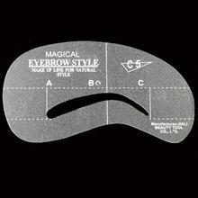 24PCS 2015 hot paragraph Miaomei Tools Eyebrow stencils 24 Styles reusable eyebrow card brow DIY Miaomei