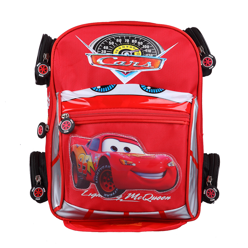 Good Quality 3D car Backpack School bag Children Anti-lost Backpack Character Car-styling Backpacks For Kids Car Boys School Bag