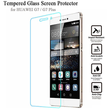 9H HD Clear for HUAWEI Ascend G7 G7 Plus G8 Tempered Glass 2.5D Anti-Explosion Screen Protectors Phone Accessory Protective Film