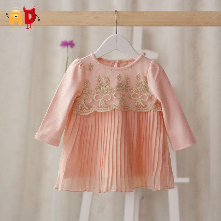 AD 2015 New Baby Dress Spring Girls Princess Children Pink Tutu Toddler Dancing Clothing vestidos roupas infantil - Angel vs Devil store