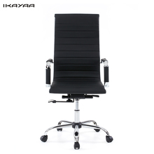 US Stock IKAYAA Luxury Dxracer PU Leather Office Executive Chair Stool Adjustable 360 Swivel Computer Chair Office Furniture(China (Mainland))