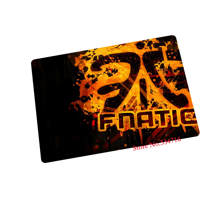 fnatic mouse pad Popular gaming laptop large mousepad gear notbook computer gamer brand play mats - wokostar computer-gear Store store