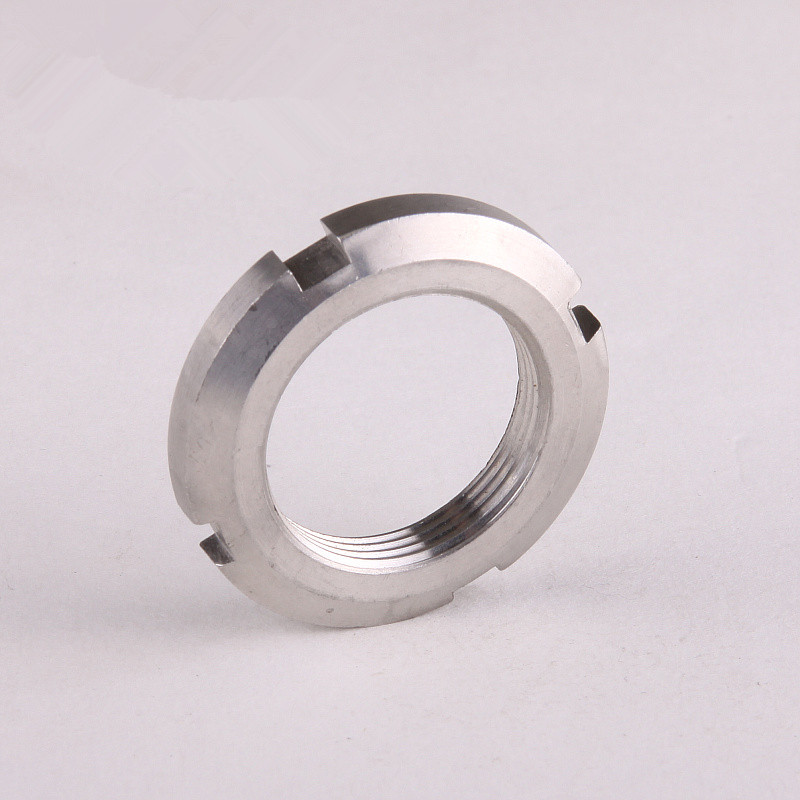 GB812 stainless steel round nut 304 four-slot nut slotted nut retaining nut M60 * 2<br><br>Aliexpress